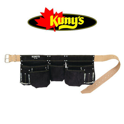 KUNYS AP661 Waterproof/Water Repellent Heavy Duty Split Grain Leather Tool Belt