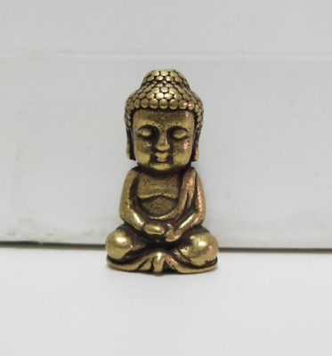 China Old Collectibles brass baby Shakya Muni Buddha mini statue