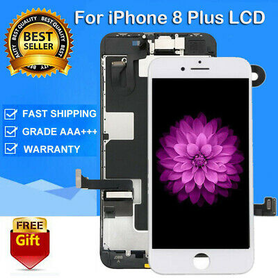 For iPhone8 Plus Full LCD Touch Screen Digitizer Replacement +Camera A1864 A1898
