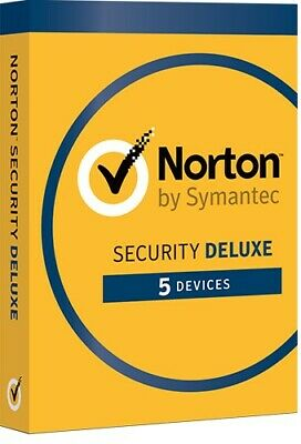Norton Internet Security DELUXE 2019 5 Devices 1 Year -  Licence key only
