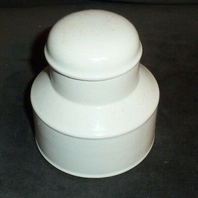 Midwinter Stonehenge White Sugar Bowl With Lid England Wedgwood White Vintage