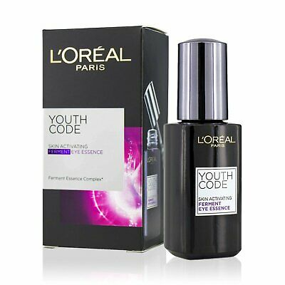L'Oreal Youth Code Skin Activating Ferment Eye Essence 20ml  Antiedad Suero