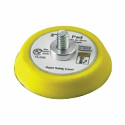 """Chicago Pneumatic 8940158330 3"""" Yellow Replacement Sander Pad for CP7200S"""