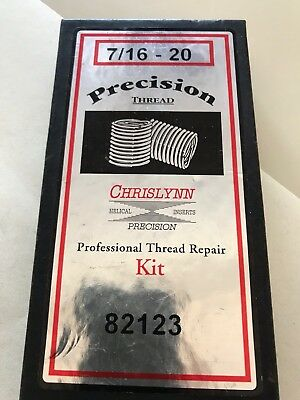 7/16-20 Thread Repair Kit with Precision Thread Inserts. Suits Indian Motorcycle