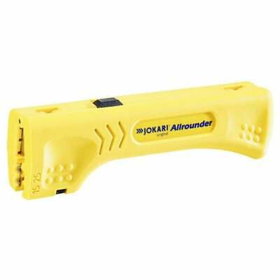 JOKARI 30900 Allrounder Round & Flat Electrical Cable Wire Stripper Hand Tool