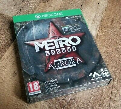 Metro Exodus Limited Edition Packaging + Box + Slipcover (Xbox One) *NEW*