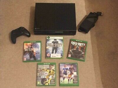 Microsoft Xbox One 500 GB Console plus 5 Games and accessories