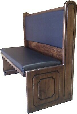 Ozark Beef Eater Restaurant Booth Single 5600S-48-36 pad seat/  pad back