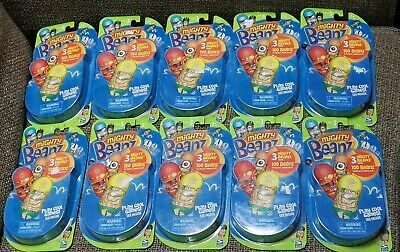 Mighty Beanz Series 3 x 10 packs 3 Jumping BEANS pp BNIP Ideal for Party bags