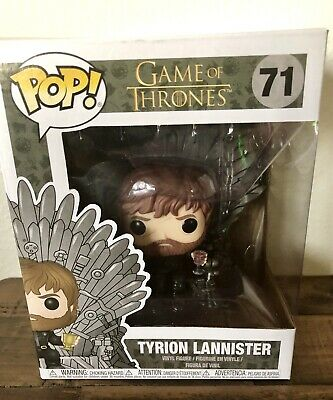 Funko Pop! Tyrion Lannister on Iron Throne Game of Thrones HBO IN STOCK Pop 71
