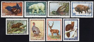 Russia USSR 1957 complete set of stamps Zagor#1906-1913 MNH CV=20$