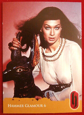 HAMMER HORROR GLAMOUR - Valerie Leon - Card C6-S2 Strictly Ink 2010
