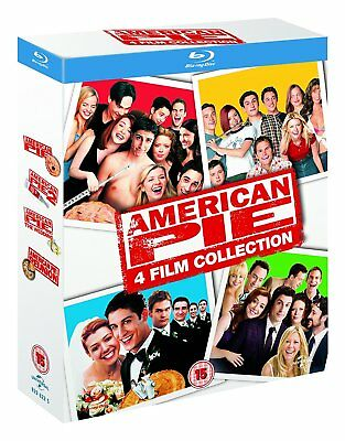 American Pie Collection - Movies 1-4 (Blu-ray, 4 Discs, Region Free) *NEW*