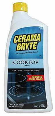 Cerama Bryte Glass-Ceramic Cooktop Cleaner, 28 Ounce Stovetop Stove Cook