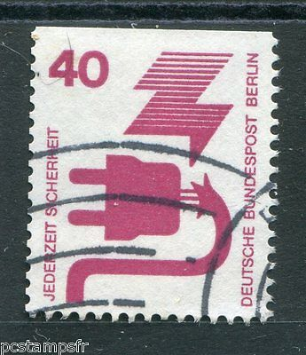 Germany Berlin 1972, Stamp 395c, Prevention, Obliterated, VF Used Stamp