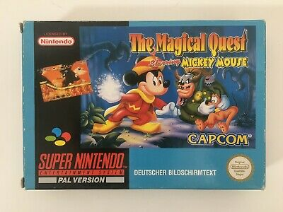 Super Nintendo SNES * THE MAGICAL QUEST * PAL (NOE/SFRG) komplett OVP CiB