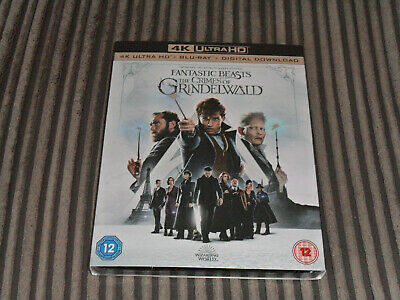 Fantastic Beasts - The Crimes Of Grindelwald. 4K Blu-Ray + Blu-Ray & DD. Sealed.