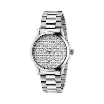 afe476fb16a Gucci G-timeless Silver Dial Stainless Steel Unisex Watch YA126459  Light  Wear