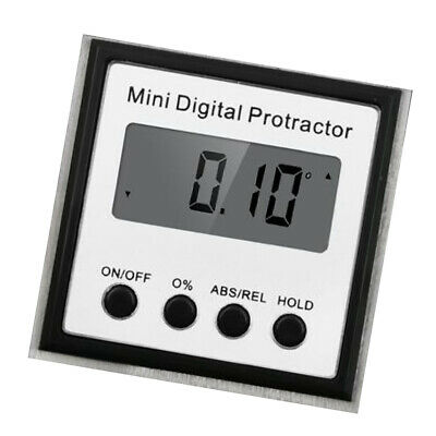 Digital Protractor LCD Inclinometer Level Meter Bevel Gauge Angle Finder