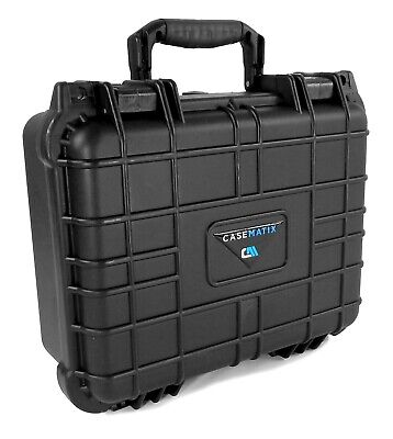 """CASEMATIX 13"""" Waterproof Microphone Case Fits Shure , AKG , Sennhesier and More"""