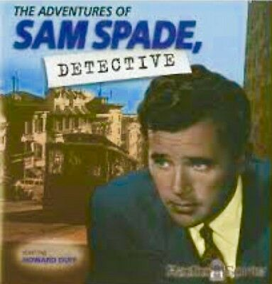 The Adventures of Sam Spade Old Time Radio Show MP3 CD otr