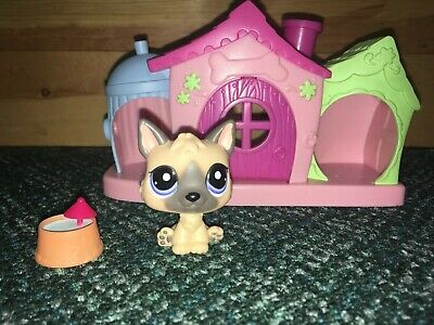 Littlest Pet Shop Playful Puppies Dog House Playset W Puppy And Waterbowl