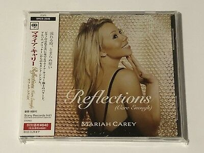 Mariah Carey Japan Reflections Cd Single Promo OOP HTF  Giltter