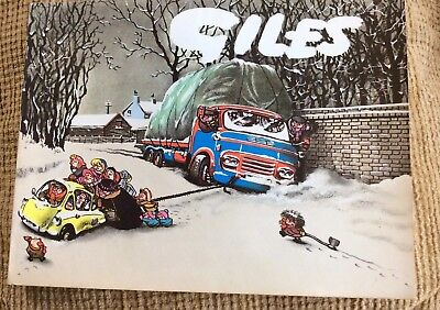 Giles Cartoons 18 Eighteenth Original 1963- 1964, Very Good Condition Unclipped