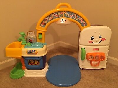 FISHER-PRICE LAUGH AND Learn Learning Kitchen Playhouse ...