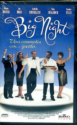 BIG NIGHT (1996) rental VHS NUOVA