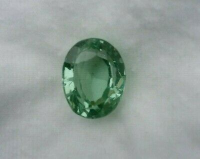 Loose Natural Earth Mined Russian Emerald Oval Cut Gem GGL Certified 7.00 Carats