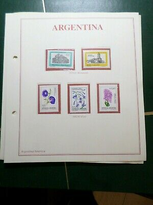 Argentina, Pack Stamps Postage & / Ou New, VF Stamps
