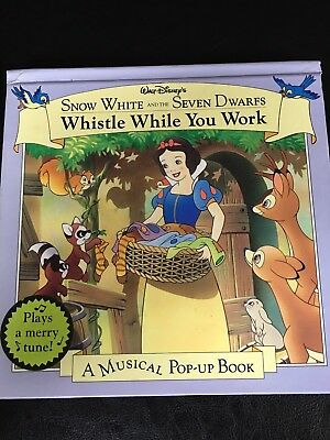 Snow White and the Seven Dwarfs -Whistle While You Work by Disney-Musical POP-UP