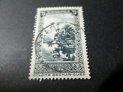 Algeria, 1936-37, Stamp 114, Landscapes, Obliterated, Seal round VF Used Stamp