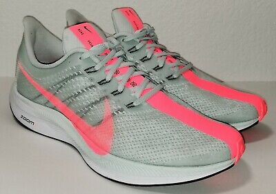 8005c780135a5 NIKE ZOOM PEGASUS 35 Turbo Barely Grey Hot Punch Size 9.5 (AJ4114 ...