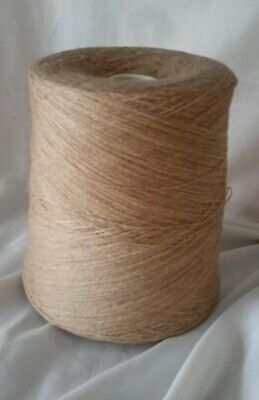 Large Cone 14 of 2ply Glenshear lambswool, in Camel  Weighing approx 798g