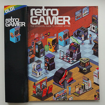 New Binder For Retro Gamer Magazine Holds 12 Issues - Arcade Pixel Art Style