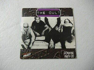 The Cult CD Promo Single Be Free