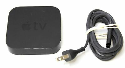 Apple Tv 3Rd Gen A1469 Digital Hd Media Streamer & Power Cable