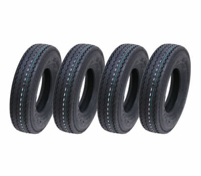 4.80/4.00-8 6ply, trailer tyre, 340kg, 400x8 - Wanda P811 road legal - set of 4