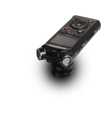 Olympus Ls-P4 Stereo Microphone Video Edition +Flash Shoe Adapter, Batteries,