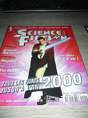 SCIENCE FICTION MAG STAR WARS 8/99 OOP RARE FRENCH VF Episode one