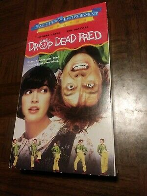 Rare DROP DEAD FRED 1991 OOP VHS Phoebe Cates