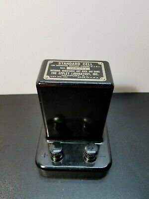 Standard cell  Eppley Laboratory Inc. Cat # 100 Model #768761 .062 Volts