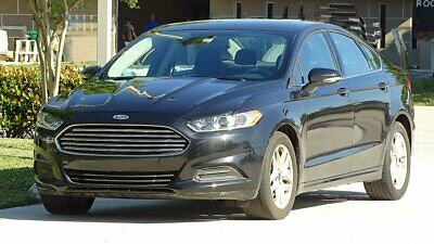 2014 Ford Fusion ECOBOOST 2014 FORD FUSION SE ECOBOOST EDITION LOCAL SOUTH FLORIDA CAR RUNS LIKE NEW
