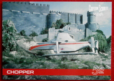 CAPTAIN SCARLET 50 YEARS - Card #08 - CHOPPER - Unstoppable Cards 2017