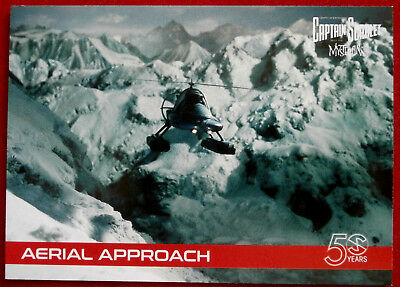 CAPTAIN SCARLET 50 YEARS - Card #19 - AERIAL APPROACH - Unstoppable Cards 2017