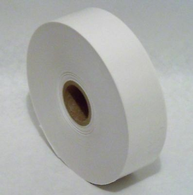 "4 ROLLS - 1.5"" x 500 Feet Each -  Water Activated NATURAL WHITE KRAFT PAPER TAPE"