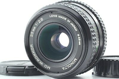 EXC+++++ Minolta MD W Rokkor 35mm f/2.8 Wide Angle MF Lens From Japan #0969