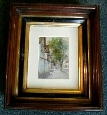 ANTIQUE W/C PAINTING BY LISTED ENGLISH ARTIST THOMAS MACKAY Lt. 19th EARLY 20thc